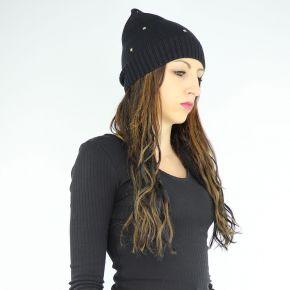 Sombrero de punto Liu Jo lima negro A68294 M0300