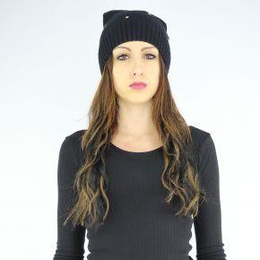 Hat knit Liu Jo lima black A68294 M0300