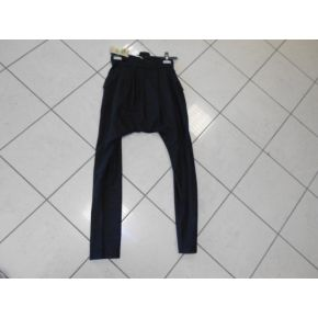 PANT SUIT BLACK CAV LOW WOOL