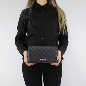 Shoulder strap Love Moschino quilted black JC4095PP06LO000A