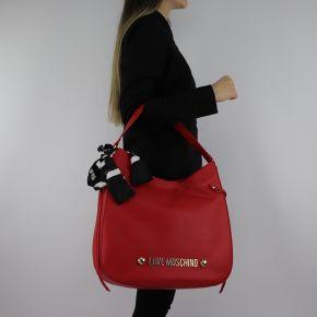 Borsa Love Moschino rossa con foulard JC4311PP06KU0500