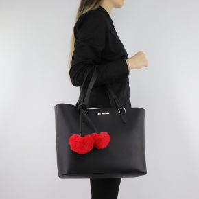 Shopping Love Moschino black with red hearts JC4322PP06KW0000