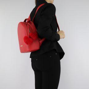 Zaino Love Moschino rosso con cuori rossi JC4323PP06KW0500