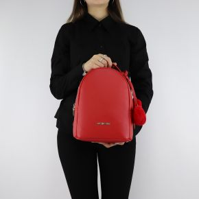Backpack Love Moschino red with red hearts, JC4323PP06KW0500
