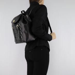 Rucksack Love Moschino schwarze damen mit schnallen JC4207PP06KA000A