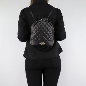 Backpack Love Moschino black quilted JC4206PP06KA000A