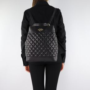 Backpack Love Moschino black quilted JC4202PP06KA000A
