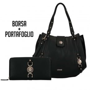 La bolsa y la cartera de Liu Jo Es que Me Negro de Publicidad 2018