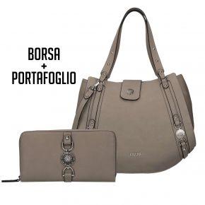 La bolsa y la cartera de Liu Jo Yo, Gris Publicidad, 2018