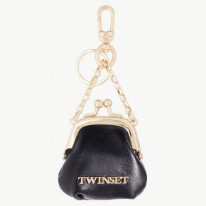 Schlüsselanhänger Twin-set schwarz