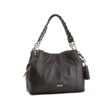 Borsa shopping Liu Jo M satchel arizona nera