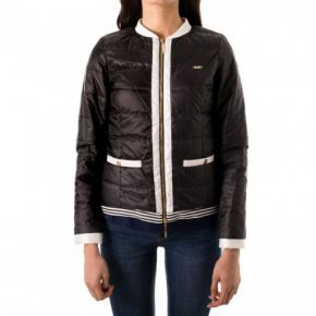 Down cropped jacket Liu Jo Sport Agnese black