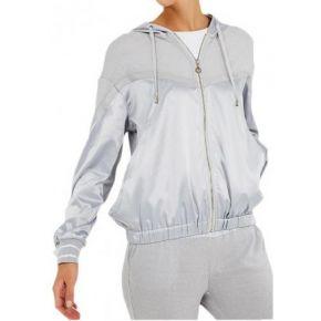 Sweatshirt geöffnet Liu Jo Sport Barbara eis-lurex