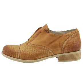 CASUAL LOW ELASTIC WITHOUT LACES NUBUCK LEATHER PERFORATED