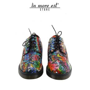 DR MARTENS MURALS/GRAFFITI MULTICOLOR