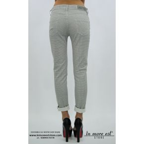 JEANS FANTASY CREAM/BLACK STRETCH