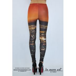 LEGGINGS CITY POLY MULTICOLOR