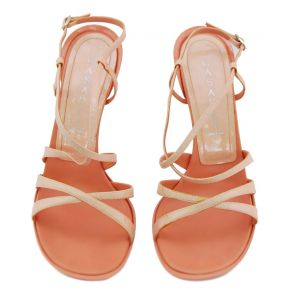 SANDAL HIGH SALMON