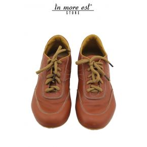 ALLAC CASUAL LOW RUST LEATHER ALLAC