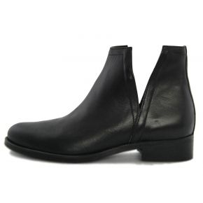 SOCKET LOW ANKLE HEIGHT BLACK CALF