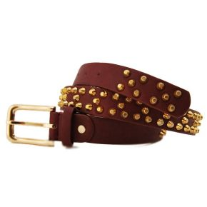 CEINTURE ROUGE VINACCIO BORCH OR