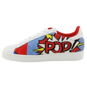 SNEAKERS LOW LEATHER NEOPR POPART