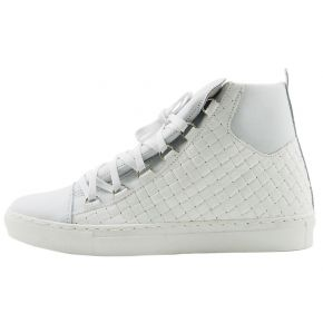 SNEAKERS WEAVE WHITE