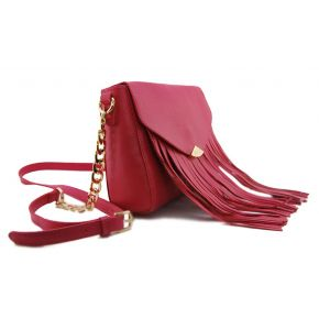 Shoulder bag clutch bag envelope Liu Jo keros fuchsia azalea
