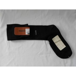SOCKS LUNHI BLACK EMBROIDERY BLUE LOGO MISSONI