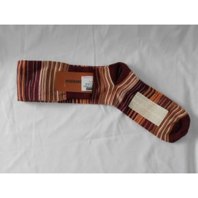 SOCKS LUNHI RED LINES, YELLOW/RED