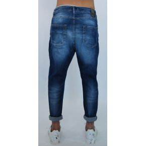 JEANS PANAMA UNIQUE ELAST PATCHES KNEES DRY LIGHT BLUE