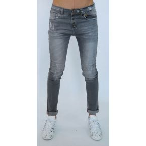 SKINNY JEANS GRAY LIGHT WASH
