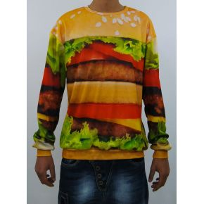 SWEAT-SHIRT SINT HAMBURGER COU DE L'ÉQUIPAGE