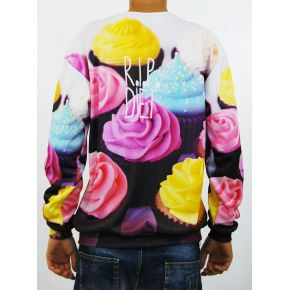 SWEATSHIRT SINT MUFFIN CREW NECK RIP DIET
