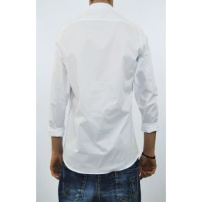 SHIRT SERAFINO ELAST COTTON WHITE