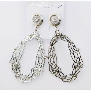 PENDANT EARRINGS SILVER