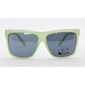 SUNGLASSES QUAY MASK GREEN UNISEX