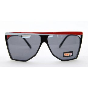 SUNGLASSES QUAY BLACK AND RED MASK UNISEX