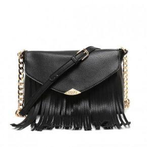 Shoulder bag clutch bag envelope Liu Jo keros black