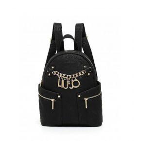 Mochila de Liu Jo m1 bolsa de nylon negro