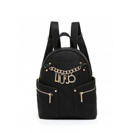 Rucksack Liu Jo m1-tasche reisetasche schwarz