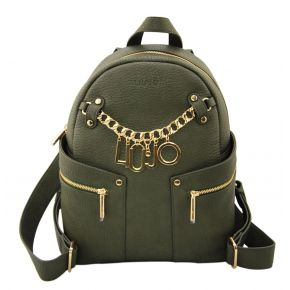Mochila de Liu Jo m1 bolsa mochila verde militar