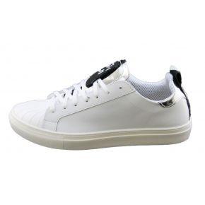 Sneakers low white Lea Gu in the skin