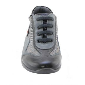 SNEAKERS LOW PAINT/CAMOSC GREY TESS SCOZZ THE BOTTOM GREY RUBBER ALLACC G LOGO