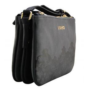 Shoulder bag Liu Jo xs triple creating harmony lace steel