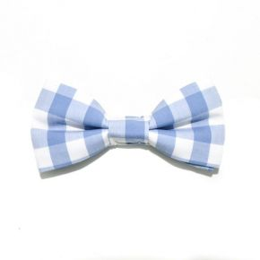 BOW TIE BLUE, BIG SQUARE - SLIM SERIES