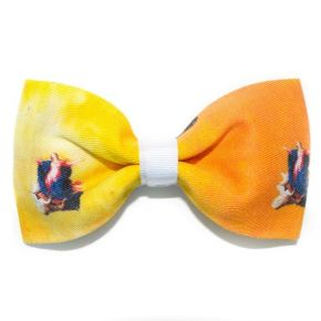 BOW TIE ORANGE THE VIRGIN MARY - THE BUTTERFLY SERIES