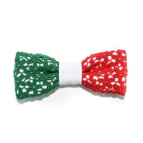 BOW TIE ITALIAN LACE - CIRCLE SERIES