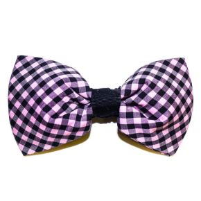 BOW TIE DIAGONAL PINK - BUTTERFLY SERIES