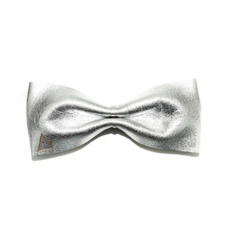 PAPILLON LEATHER PUSSY SILVER - SLIM SERIES
